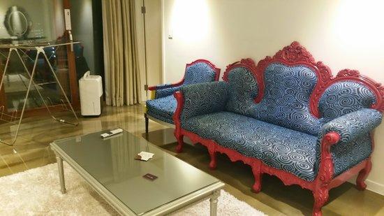 Boutique Hotel Villa De Aewol: living room