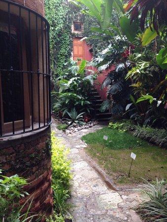 Casa de Sierra Azul : Parte trasera del Hotel