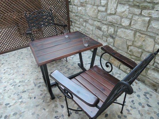 Hotel Mangalemi: My courtyard