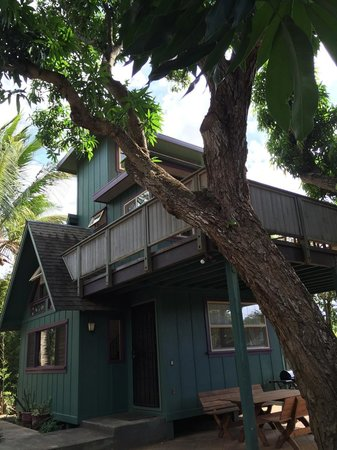 Spyglass Maui Rentals: the gingerbread house