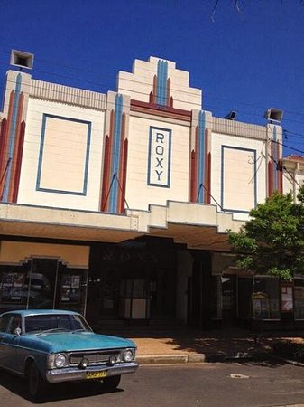 Bingara, Australia: The Roxy Theatre