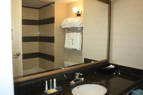 salle de bains - Picture of Comfort Suites Downtown ...
