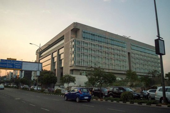 Park Hyatt Hyderabad: Hotel from the outside