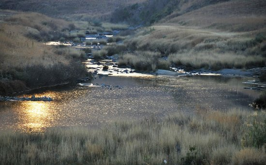 Berghouse and Cottages: River activities offered on site