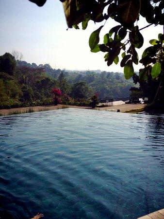 Padma Hotel Bandung: pemandangan dari kolam renang