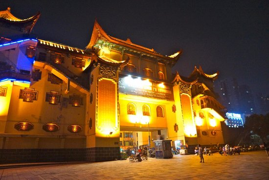 Changde Poem Wall : beautiful tower
