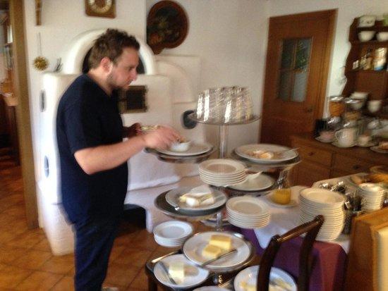 Gästehaus Sunkler: Colazione
