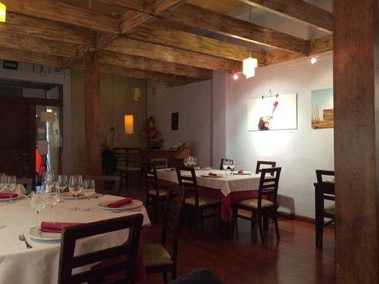 El Festín de Babel: Interior del restaurante