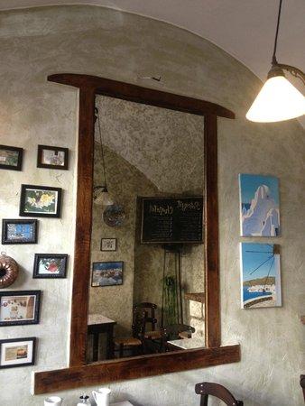 Gran Delicato: mirror in the third hall