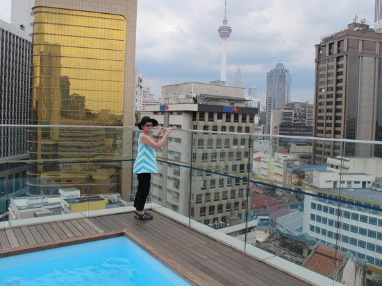 Rooftop Pool With A View Picture Of Pacific Express Hotel Kuala Lumpur Tripadvisor