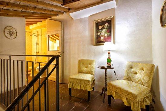 Fattoria dei Comignoli: camera-suite Pascuccio, relax anti bagno