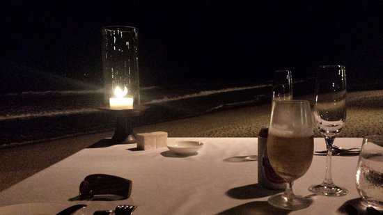 The Restaurant at The Legian: Friday night view