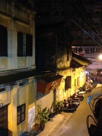 Hanoi Finnegans Hotel: Vista/Old Quarter