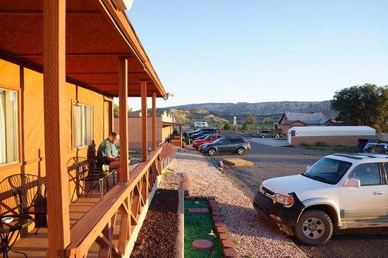 "Circle D Motel : Sunrise at the ""Circle-D"""