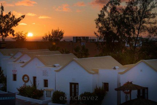 Fuerteventura Beach Club: Morning View from my room