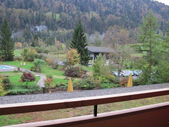 Gesundhotel Bad Reuthe: Balkonaussicht