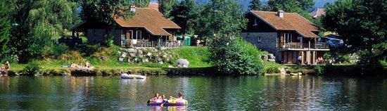 Corcieux, فرنسا: Hébergements sur le lac