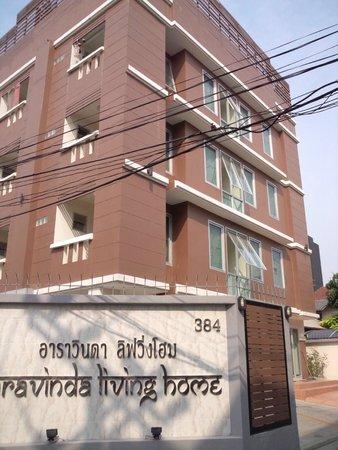 Aravinda Living Home: ホテル前景