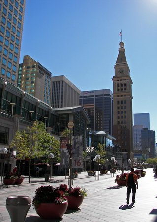 Daniels and Fisher Tower: Daniel's and Fisher Tower