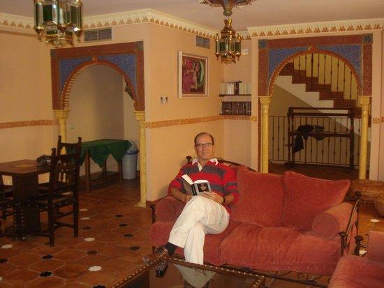 Hospederia Princesa Elima: en la sala