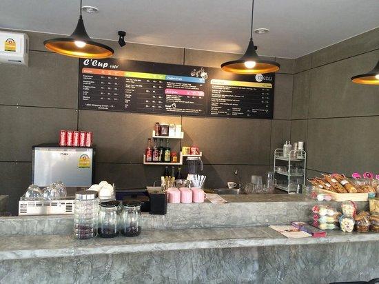 C Cup Cafe Café Coffee Counter