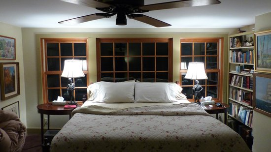 Brookhirst Farm Bed & Breakfast: Bedroom we choose to sleep in