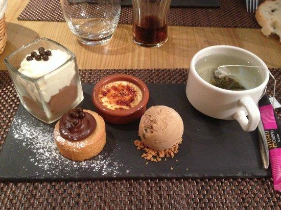A Table : Thé gourmand
