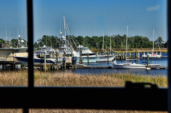 Hampton Inn Georgetown-Marina: the view