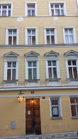 Prague City: la facciata principale