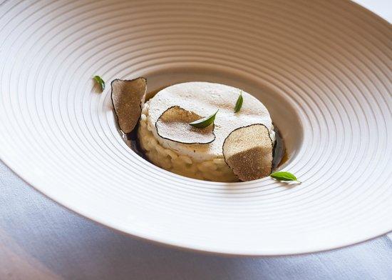 Zinfandel's Restaurant : Delicous, award wining risotto