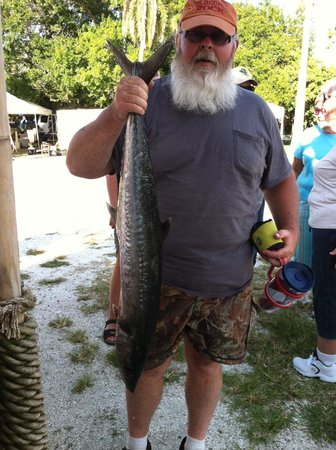 Paradise Fishing Charters : The best King of the day.