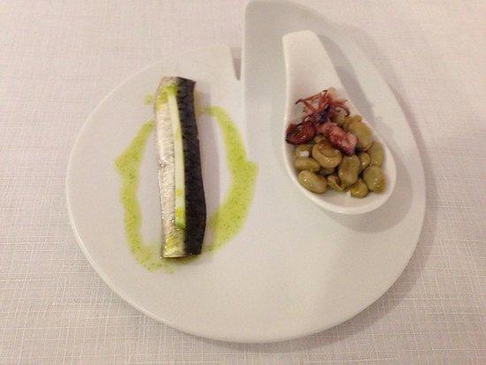 La Forquilla Restaurant: Wonderful sardine