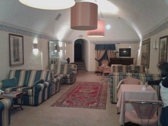 Hotel San Michele : la sala lettura