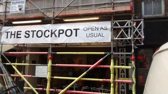 Stockpot: Em setembro, o restaurante passava por reforma