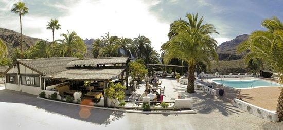 Foto De Finca Molino De Agua Hotel Rural Restaurante Fataga Vista