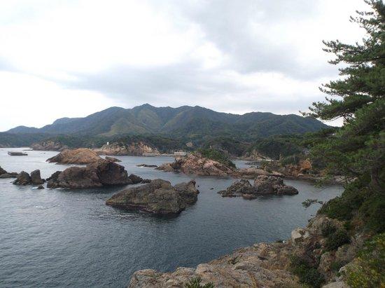 Izumo Hinomisaki Lighthouse: 遊歩道からの景色①