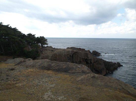 Izumo Hinomisaki Lighthouse: 遊歩道からの景色②