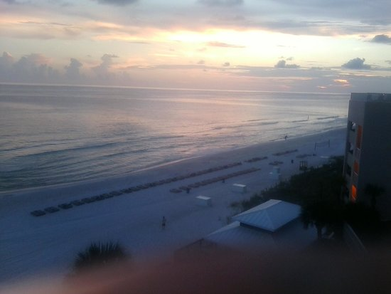 Palmetto Inn & Suites: Sunset from our Deck