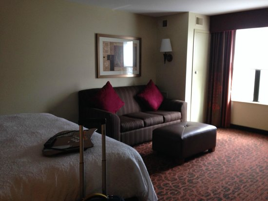 Hampton Inn Oxford University Area: King room