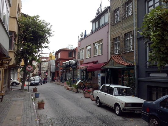Istanbul Hostel: Sultanahmet district where hostel is located