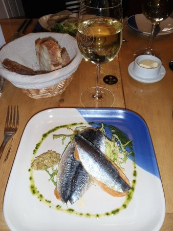 La Garrigue: The Sardines Entree