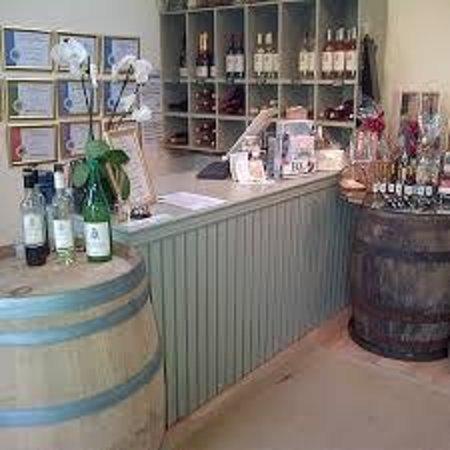 Hartest, UK: A peek inside the vineyard shop