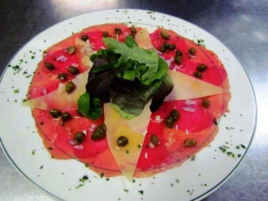 Alfano's Restaurant: Beef Carpaccio