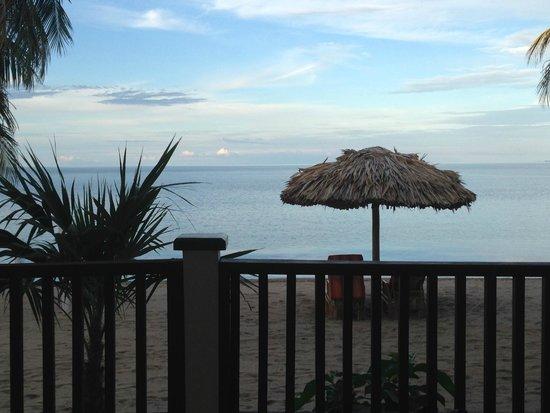Almond Beach Resort & Spa: View from Veranda 1
