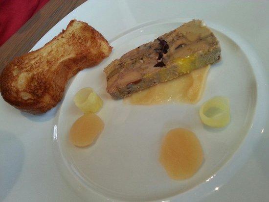 Foie gras maison mi cuit excellent photo de for Maison de la mode puteaux