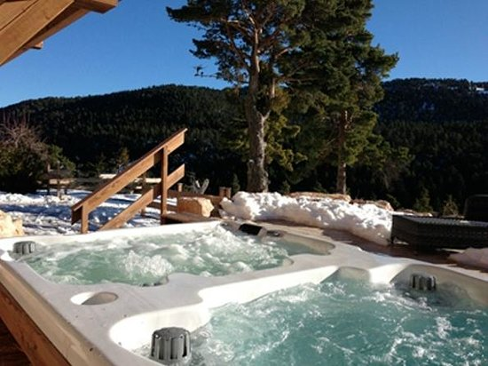 Caille, France: Jacuzzi