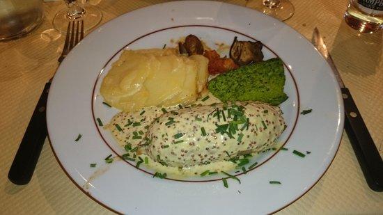 Chez M'man : andouillette lyonnaise