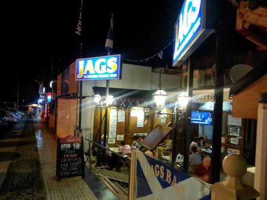 The Patch : Jags scotch bar
