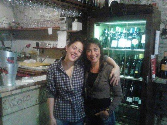 Osteria dell'Enoteca : Con Marta
