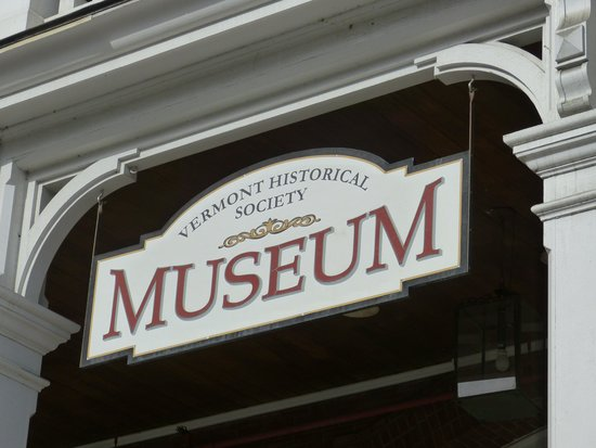 Vermont Historical Society Museum: Sign